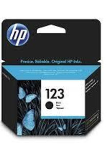 דיו מקורי HP 123 שחור