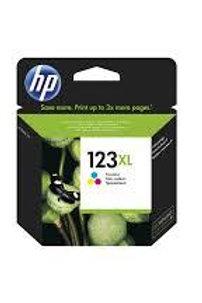 דיו מקורי HP 123XL צבעוני