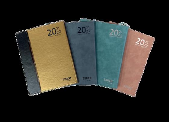 יומן 2021/2022 שבועי 21/27 מגנט PU