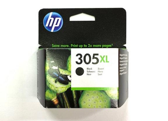 דיו מקורי HP 305XL שחור