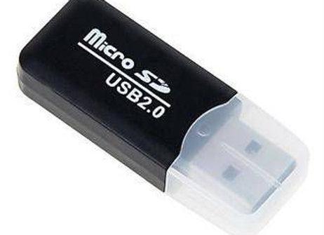 קורא כרטיסים SD-HC/MICRO - SD-887  שחור