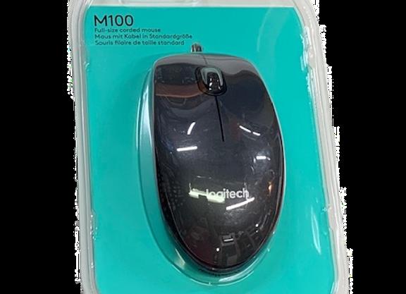 עכבר אופטי - חוטי LOGITECH M100
