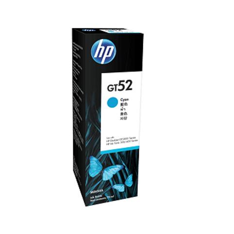 בקבוק דיו מקורי HP GT52C כחול