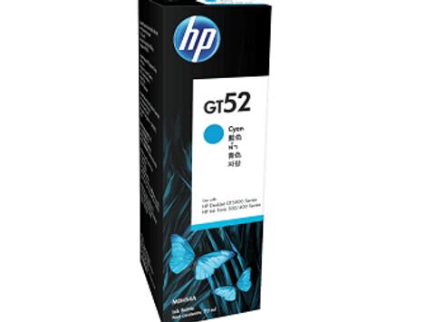 בקבוק דיו מקורי HP GT 52C כחול