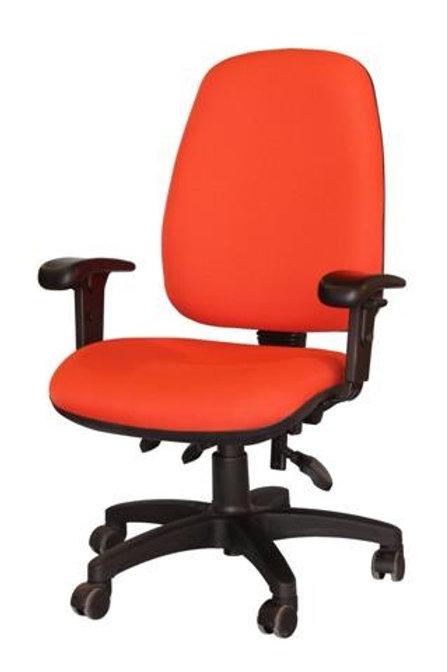 """3 מהלכי כיסא מזכירה ארגונומי דגם """"גל"""" לישיבה נוחה"""