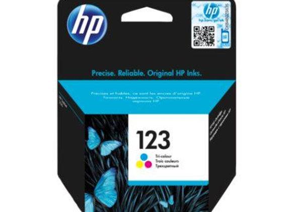 דיו מקורי HP 123 צבעוני