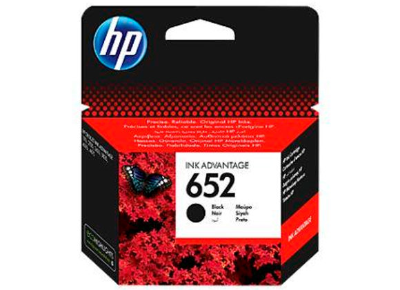 דיו מקורי HP 652 שחור