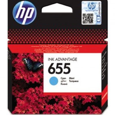 דיו מקורי HP 655 כחול