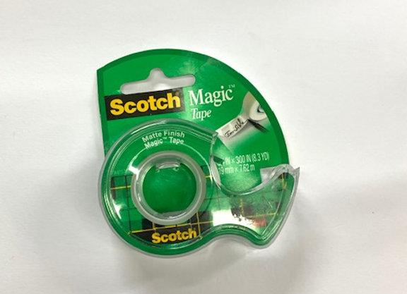 דיספנסר מג'יק חלבי לא מצטלם 3/4 Scotch 3M