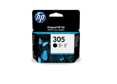דיו מקורי HP 305 שחור