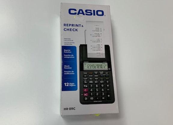 מכונת חישוב CASIO HR-8RC