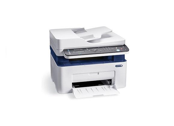 מדפסת לייזר אלחוטית משולבת XEROX WorkCenter 3025