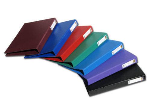 תיק 2 טבעות FOCUS צבעוני