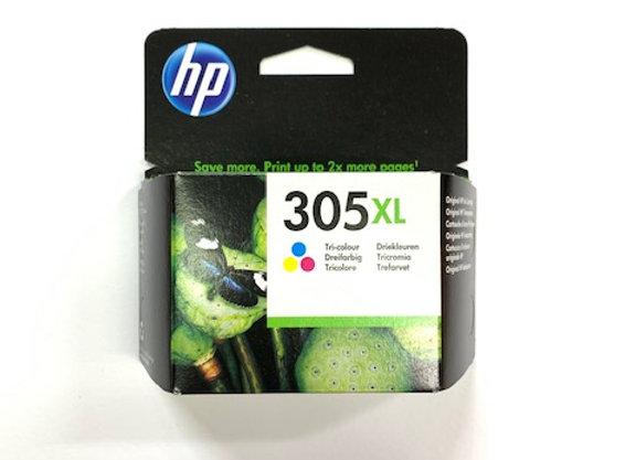 דיו מקורי HP 305XL צבעוני