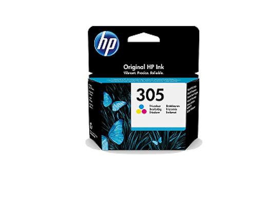 דיו מקורי HP 305 צבעוני