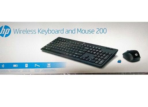 סט מקלדת + עכבר HP Wireless Keyboard & Mouse