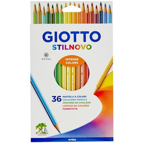 סט 36 עפרונות צבעוניים GIOTTO