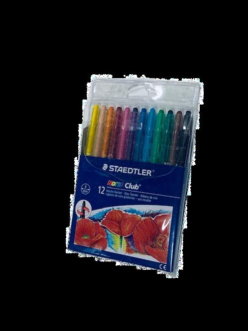 סט 12 צבעי שעווה טוויסטר שטדלר STAEDLER