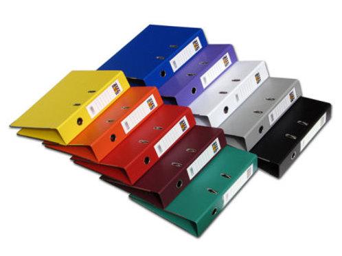 קלסר משרדי גב 5 FOCUS צבעוני