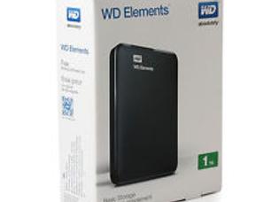 דיסק נייד WD Elements 1Tb