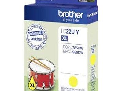 דיו מקורי BROTHER LC22U Y צהוב