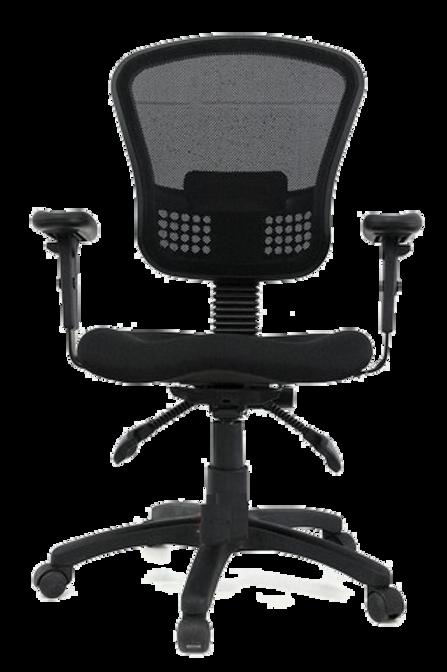 """כיסא מזכירה ארגונומי דגם """"אופירה"""" לישיבה יציבה"""