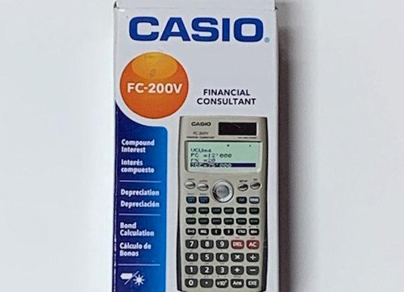 מחשבון פיננסי Casio FC200V