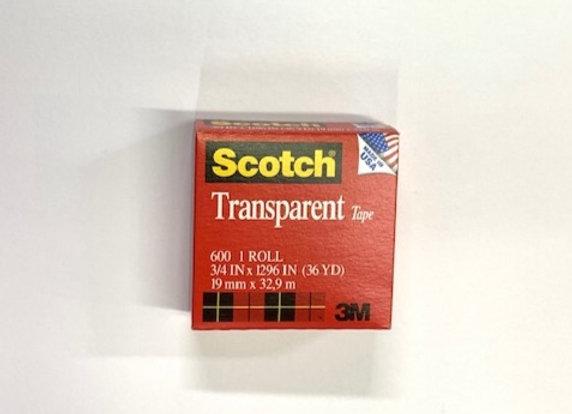סלוטייפ שקוף 3/4 Scotch 3M