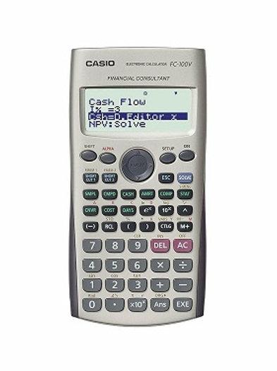 מחשבון פיננסי Casio FC100V