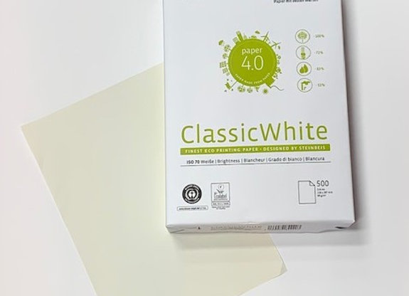 נייר צילום ממוחזר 80 גרם Classic White A4