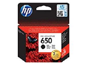 דיו מקורי HP 650 שחור