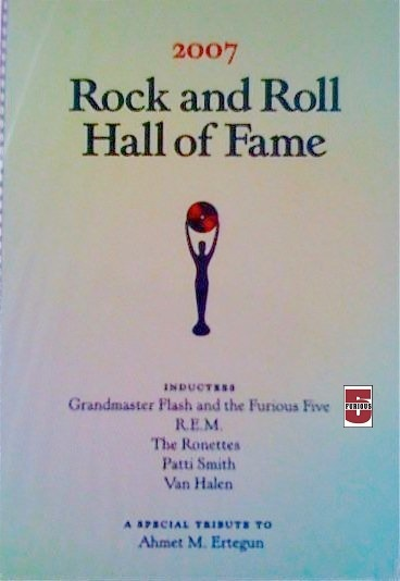 Rock and Roll Hall of Fame 2007 Program 01.jpg