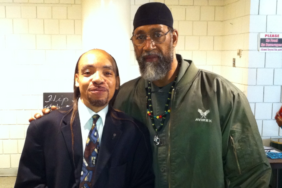 The Kidd Creole and DJ Kool Herc