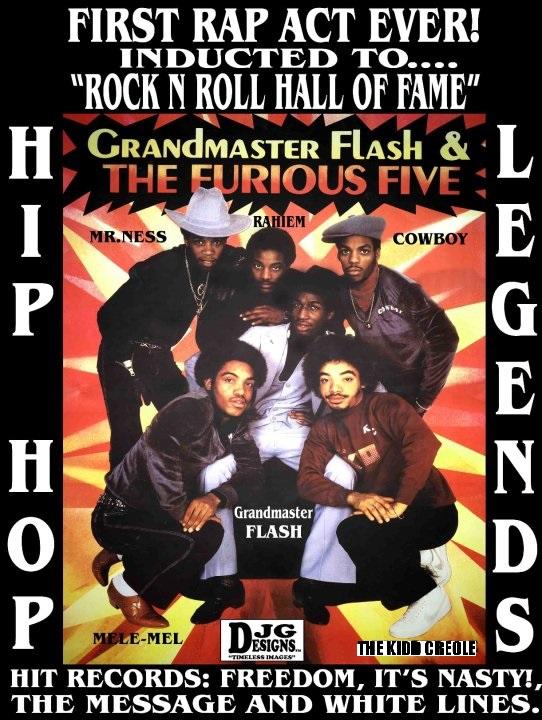 Classic Hip Hop Poster