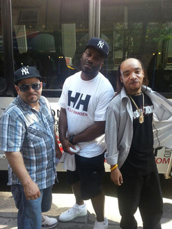 The Kidd Creole on the Hush tour