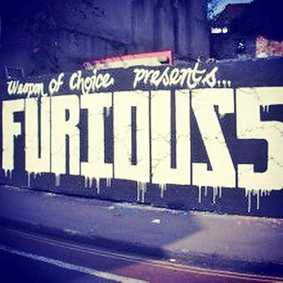 Billboard for concert in Bristol UK