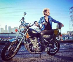Ride on #biker #lifestyle #downtown #losangeles #freedom #bikerstyle