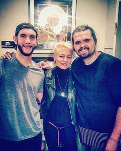 Back in studio with my mate _dennyjr  #greatest #talented #socool #the #sound #cyn #cynmusic