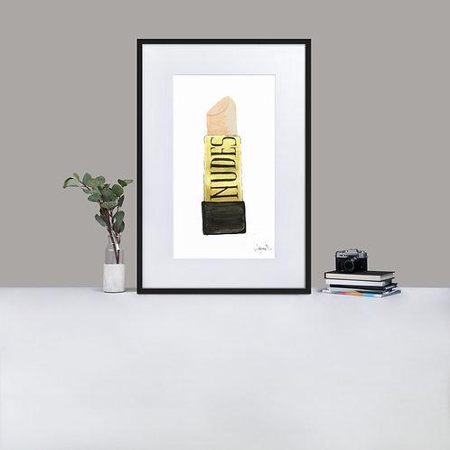 Nudes Matte Paper Framed Poster