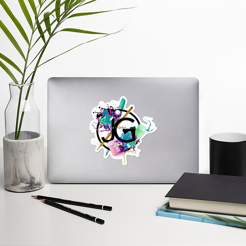 JG Designs Collage Sticker