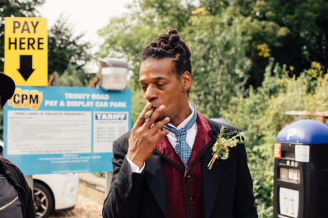 Groom_Smoking_Wedding