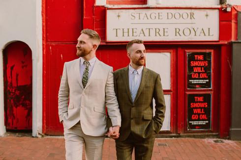 Gay Couple in Brighton