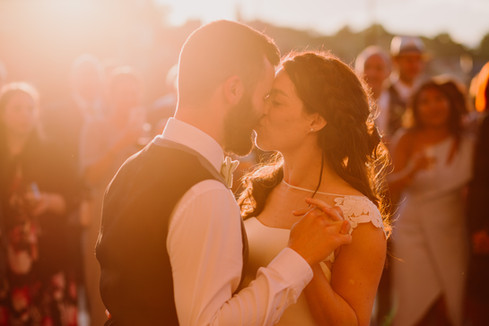 Golden Hour First dance in Frome