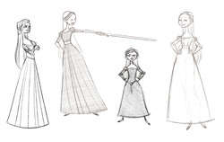4 Meryl Sketches - Copy