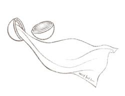 Wooden Ball and Elven Silk