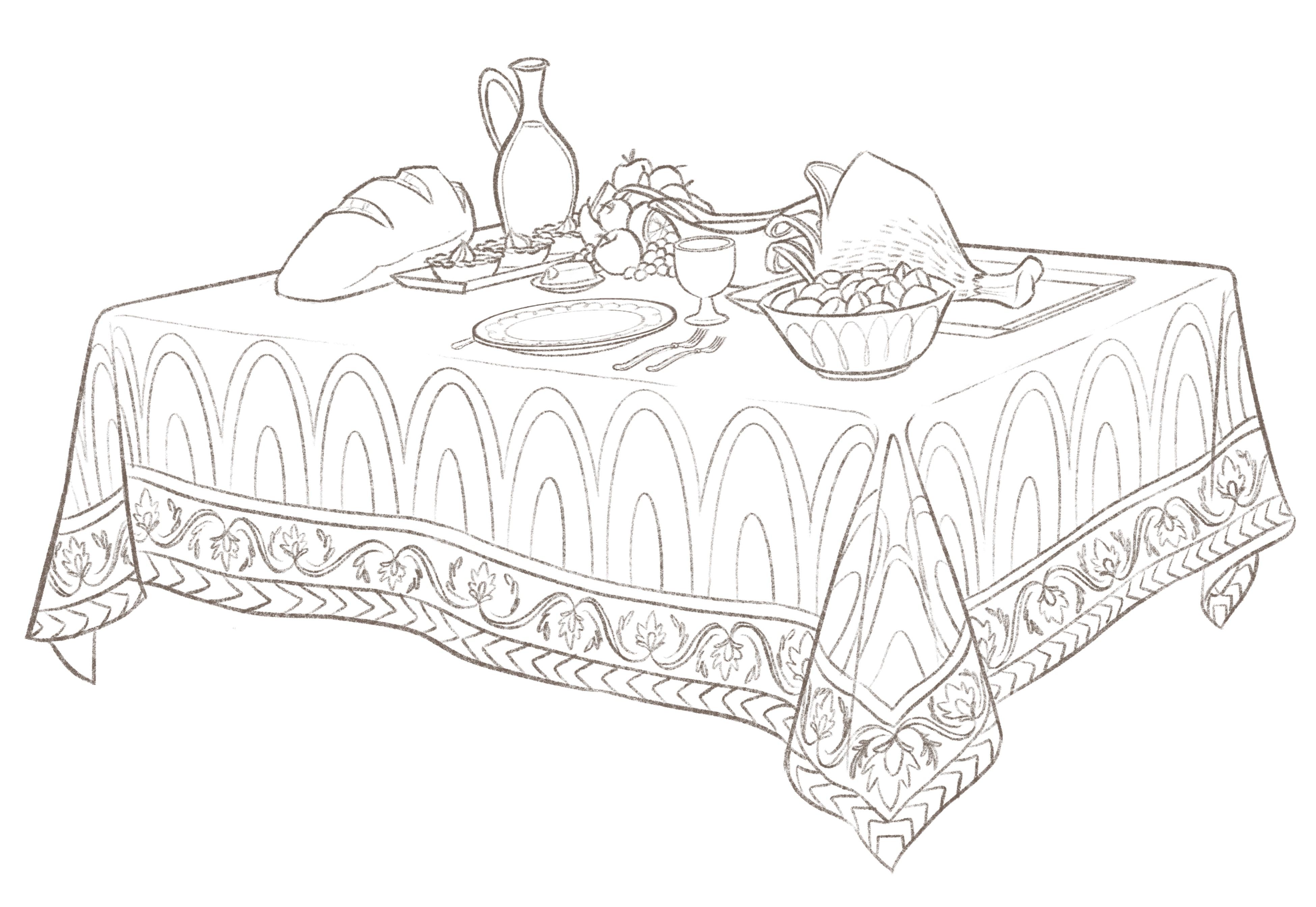 Magic Tablecloth