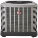 Picture of a Classic Series two-stage Rheem Heat Pump model RP16