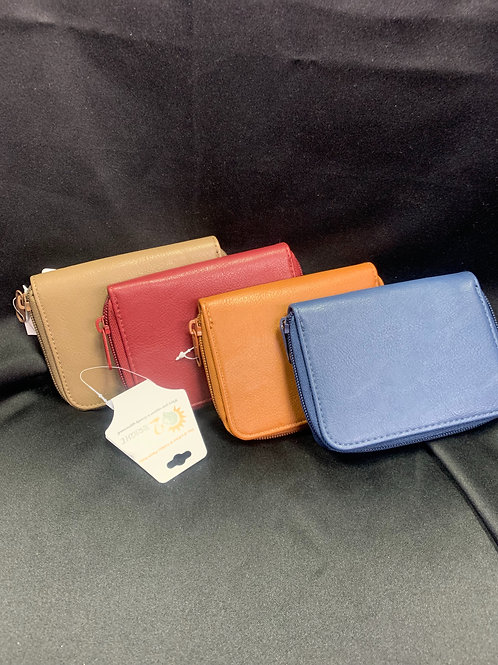 Single Zip Wallets