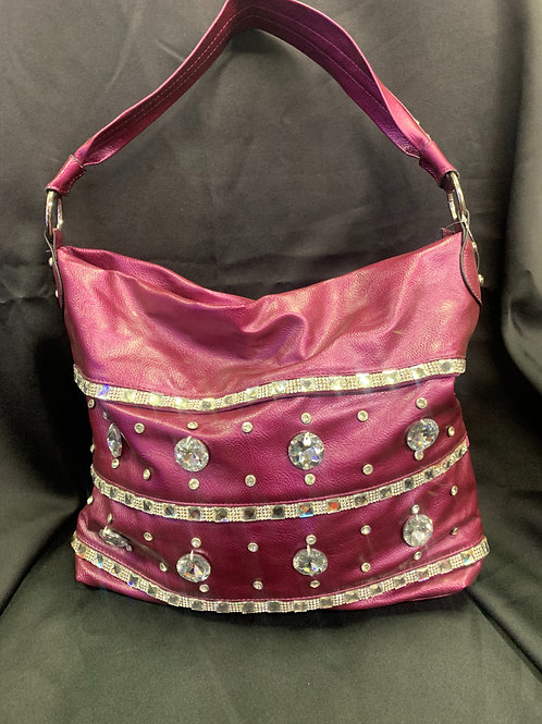 """About That Fuchsia"" Bling Bag"