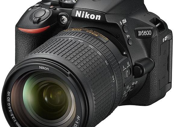Nikon D5600 + 18-140mm VR - קיט DSLR מצלמת ניקון